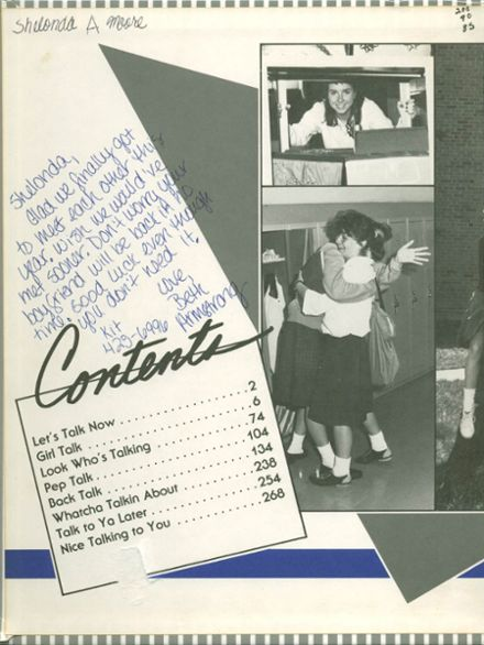 1988 Mother McAuley Liberal Arts High School Yearbook Page 2
