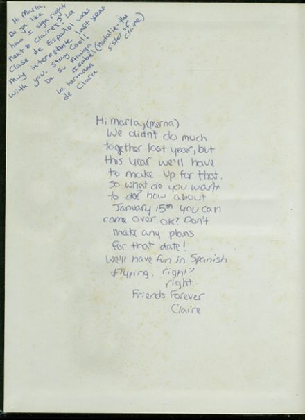 1981 Ripon High School Yearbook Page 2