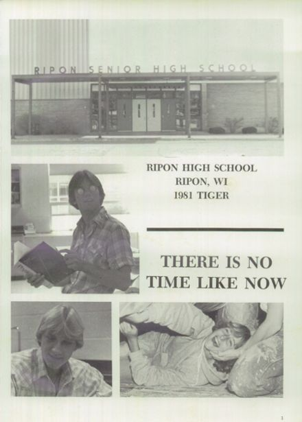 1981 Ripon High School Yearbook Page 5