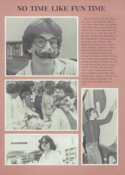 1981 Ripon High School Yearbook Page 9