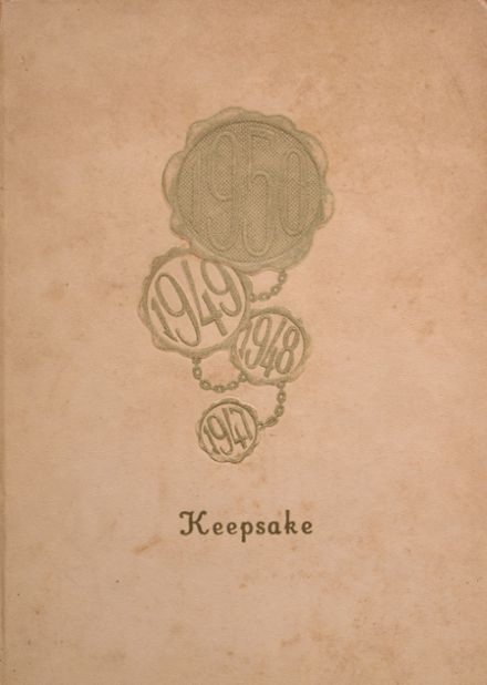 1950 Taylor County High School Yearbook Cover