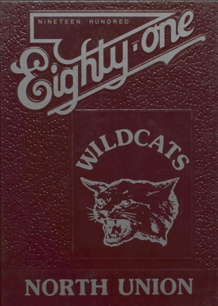 1981 North Union High School Yearbook Cover