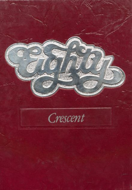 1980 Crescent High School Yearbook Cover
