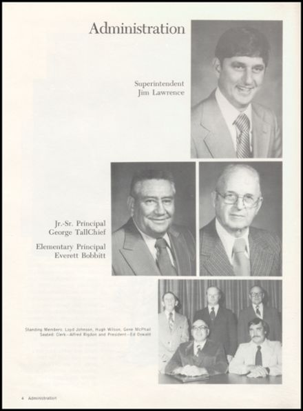 1980 Crescent High School Yearbook Page 8