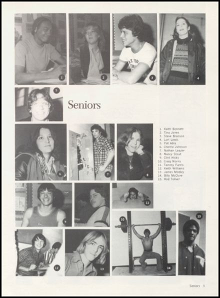 1980 Crescent High School Yearbook Page 9