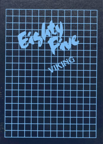 1985 Orcas Island High School Yearbook Cover