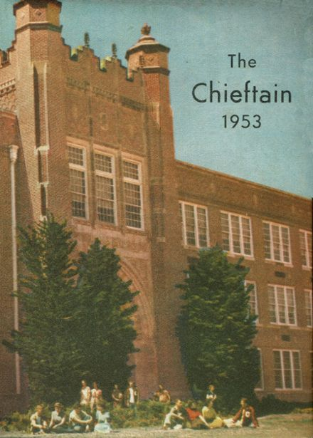1953 Capitol Hill High School Yearbook Cover