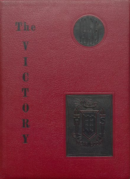 1955 Whitman-Hanson Regional High School Yearbook Cover