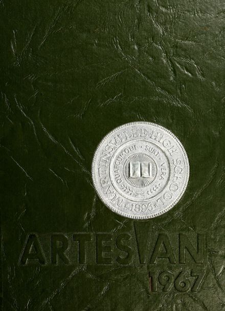 1967 Martinsville High School Yearbook Cover