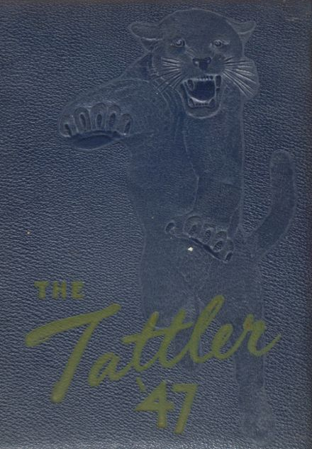 1947 St. Anthony High School Yearbook Cover