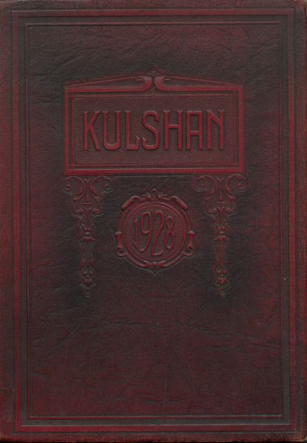 1928 Whatcom High School Yearbook Cover