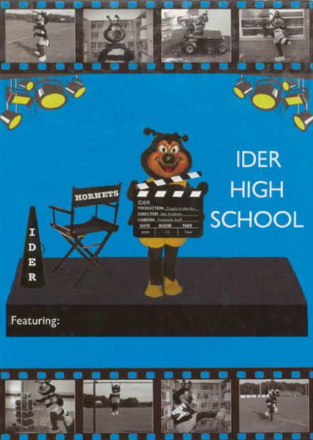 2009 Ider High School Yearbook Cover