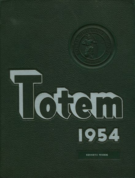1954 South Side High School Yearbook Cover