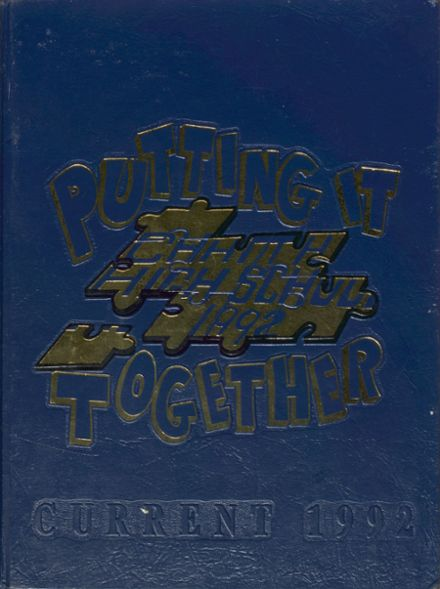 1992 Chattahoochee High School Yearbook Cover