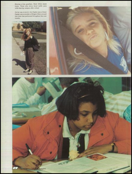 1990 West Potomac High School Yearbook Page 6