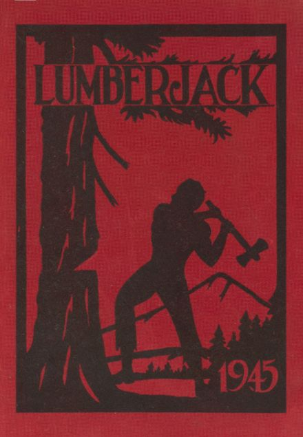 1945 R.A. Long High School Yearbook Cover