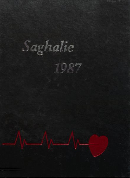 1987 Shelton High School Yearbook Cover