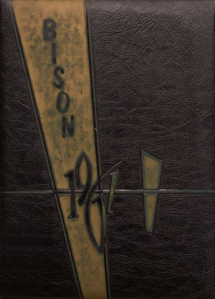 1961 Cross Plains High School Yearbook Cover