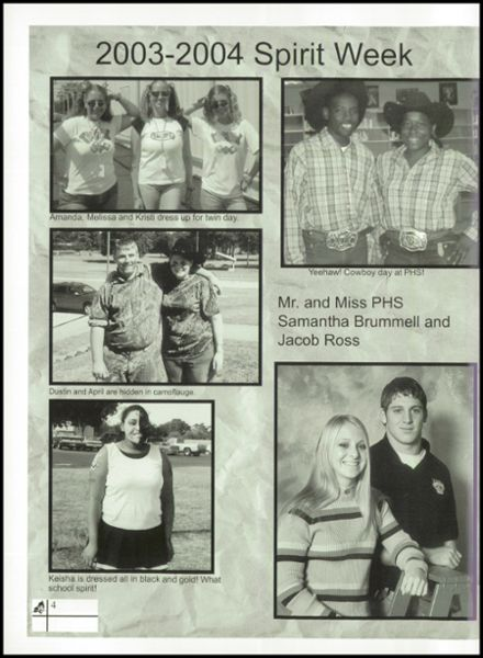 2004 Pittsburg High School Yearbook Page 8