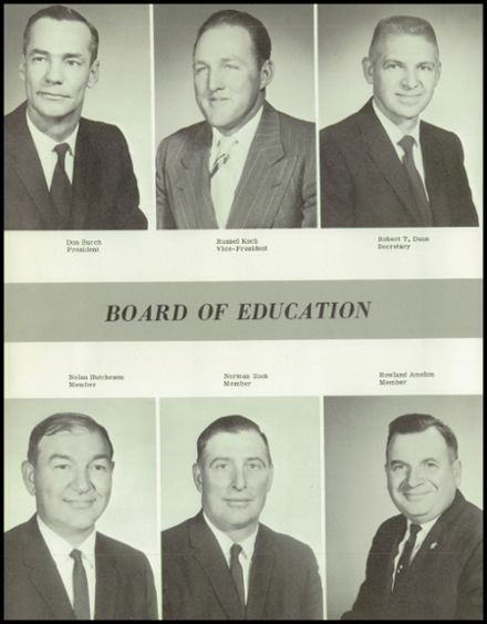 1966 Houston High School Yearbook Page 8