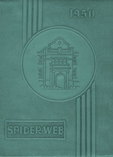1950 Macomb High School Yearbook Cover