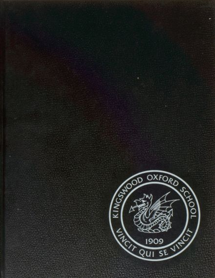1988 Kingswood-Oxford High School Yearbook Cover