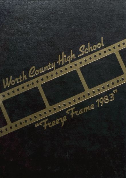 1983 Worth County R-III High School Yearbook Cover