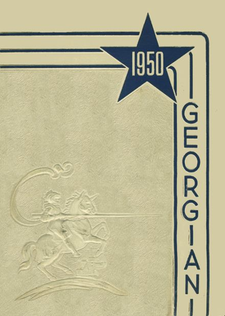 1950 St. George High School Yearbook Cover