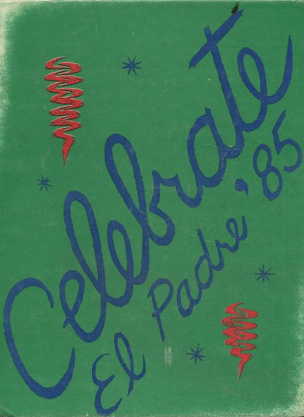 1985 Garces Memorial High School Yearbook Cover