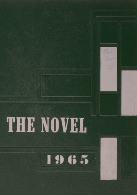1965 Waverly High School Yearbook Cover