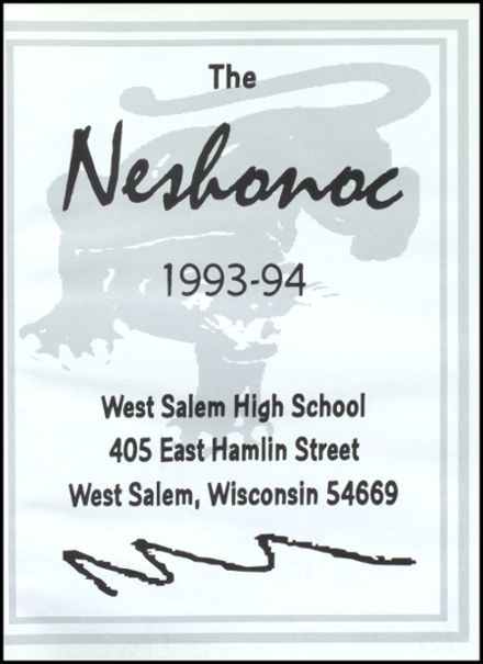 1994 West Salem High School Yearbook Page 5