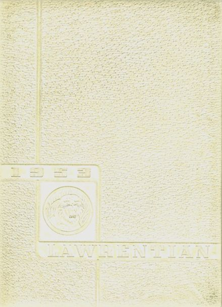 1953 Lawrence Park High School Yearbook Cover