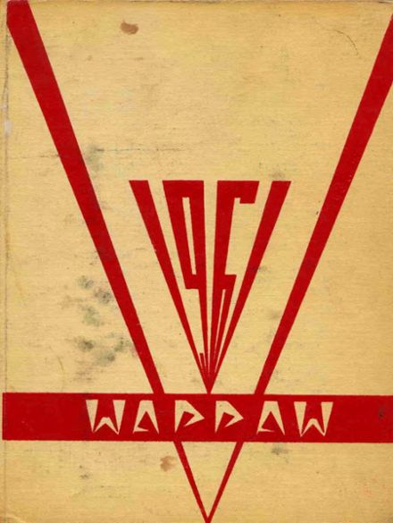 1961 Paw Paw High School Yearbook Cover