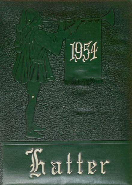 1954 Joint Consolidated High School Yearbook Cover