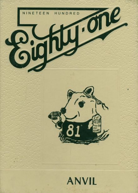 1981 Smithfield High School Yearbook Cover