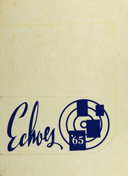 1965 East High School Yearbook Cover