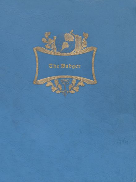 1939 Valentine High School Yearbook Cover