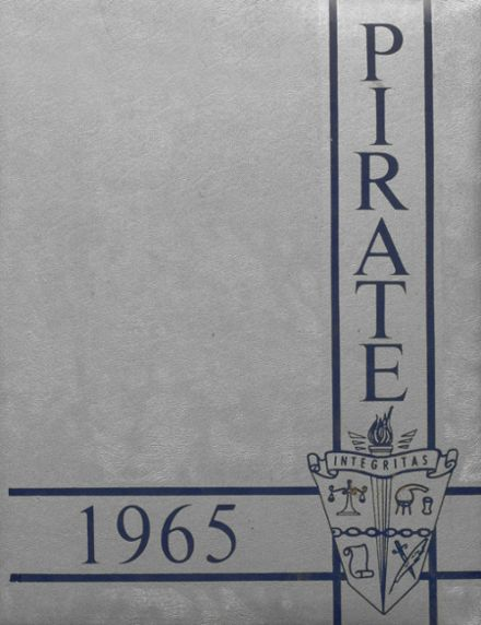 1965 Gosnell High School Yearbook Cover