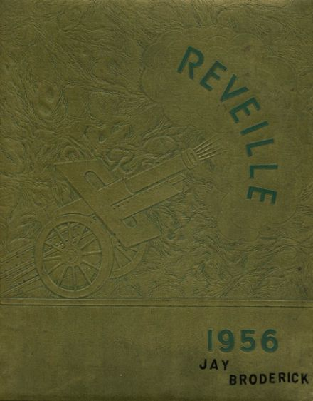 1956 Marmion Military Academy Yearbook Cover