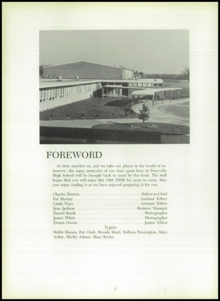 1966 Perryville High School Yearbook Page 6