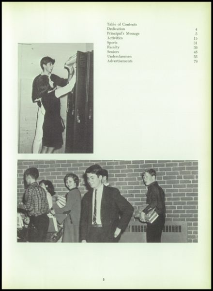 1966 Perryville High School Yearbook Page 7