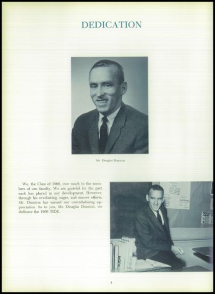 1966 Perryville High School Yearbook Page 8