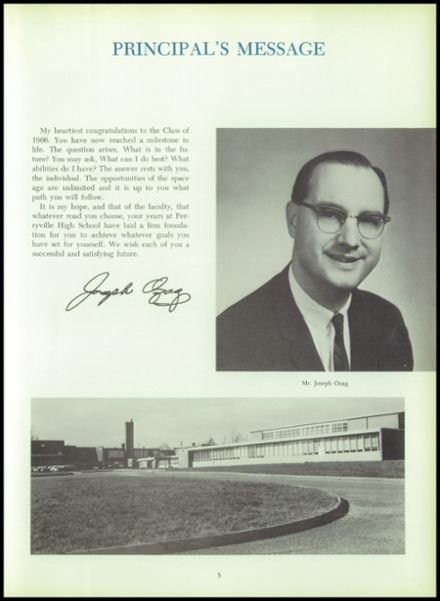 1966 Perryville High School Yearbook Page 9