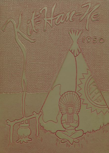 1950 Kittanning High School Yearbook Cover