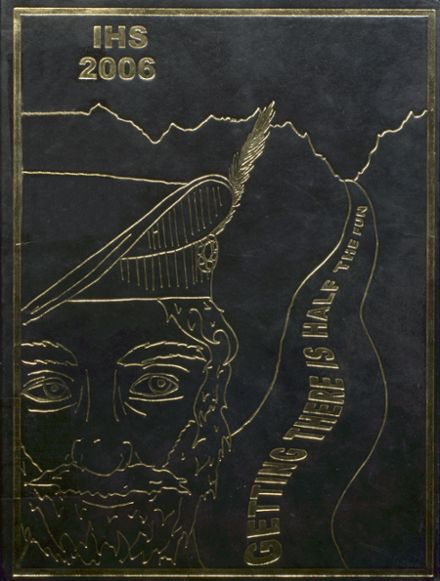 2006 Incline High School Yearbook Cover