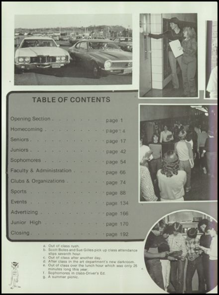 1982 River Falls High School Yearbook Page 8