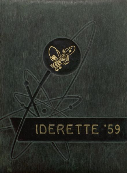1959 Ider High School Yearbook Cover