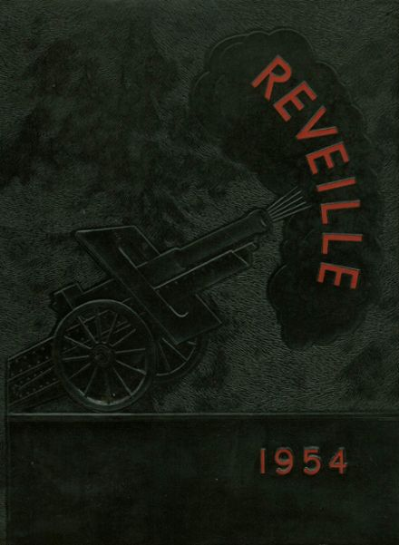 1954 Marmion Military Academy Yearbook Cover
