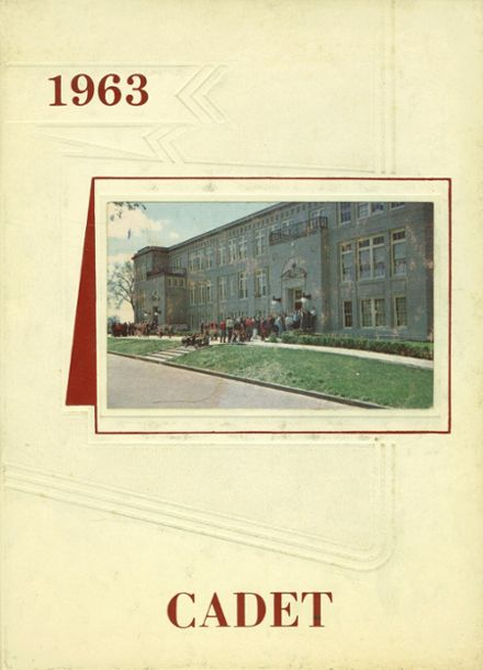 1963 West Point High School Yearbook Cover