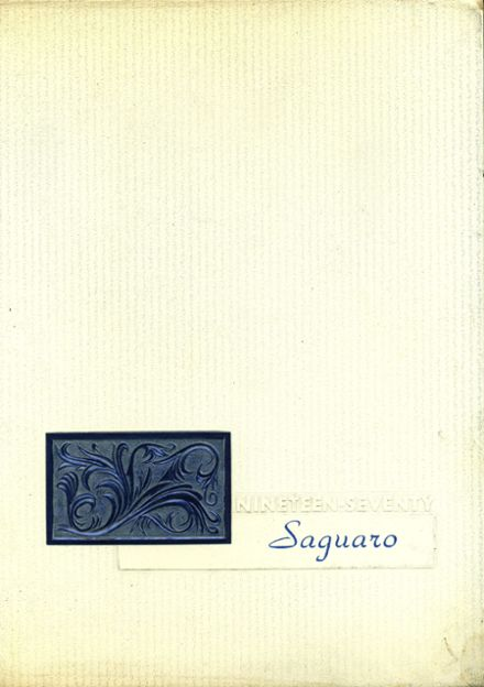 1970 Union High School Yearbook Cover